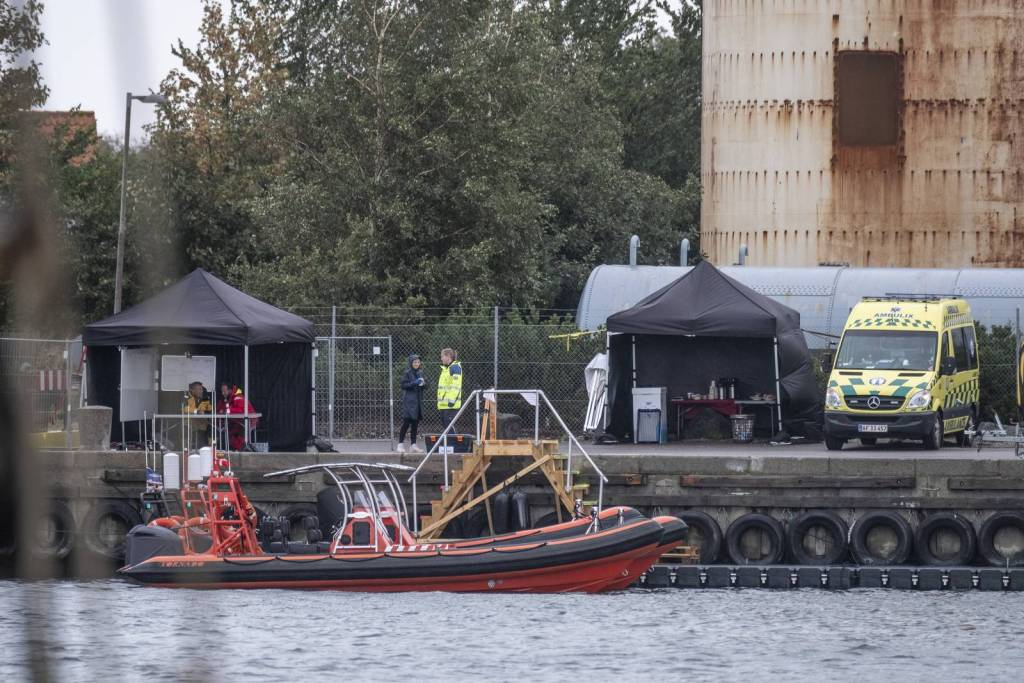 Préparation du tournage de Tenet au Danemark, le 10 septembre 2019