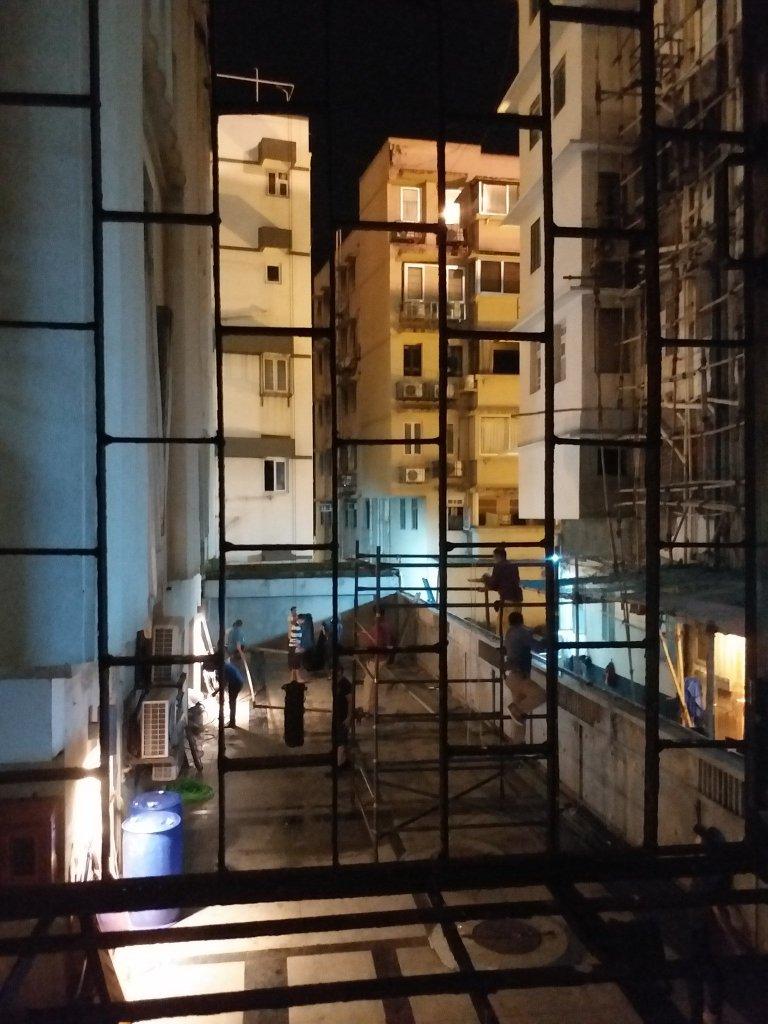 Pendant le tournage de Tenet à Mumbai, Inde, le 20 septembre 2019