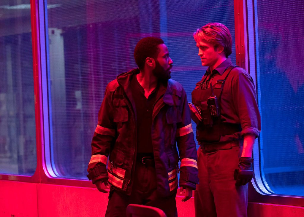 Image officielle de Tenet, avec John David Washington et Robert Pattinson, diffusée le 3 janvier 2020