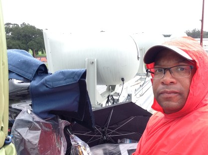 Christopher C. Odom on location with SEVideo