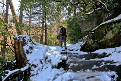winter things to do in the smoky mountains -