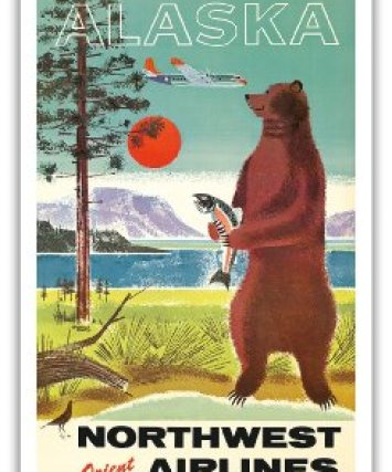 Northwest Airlines_Alaska