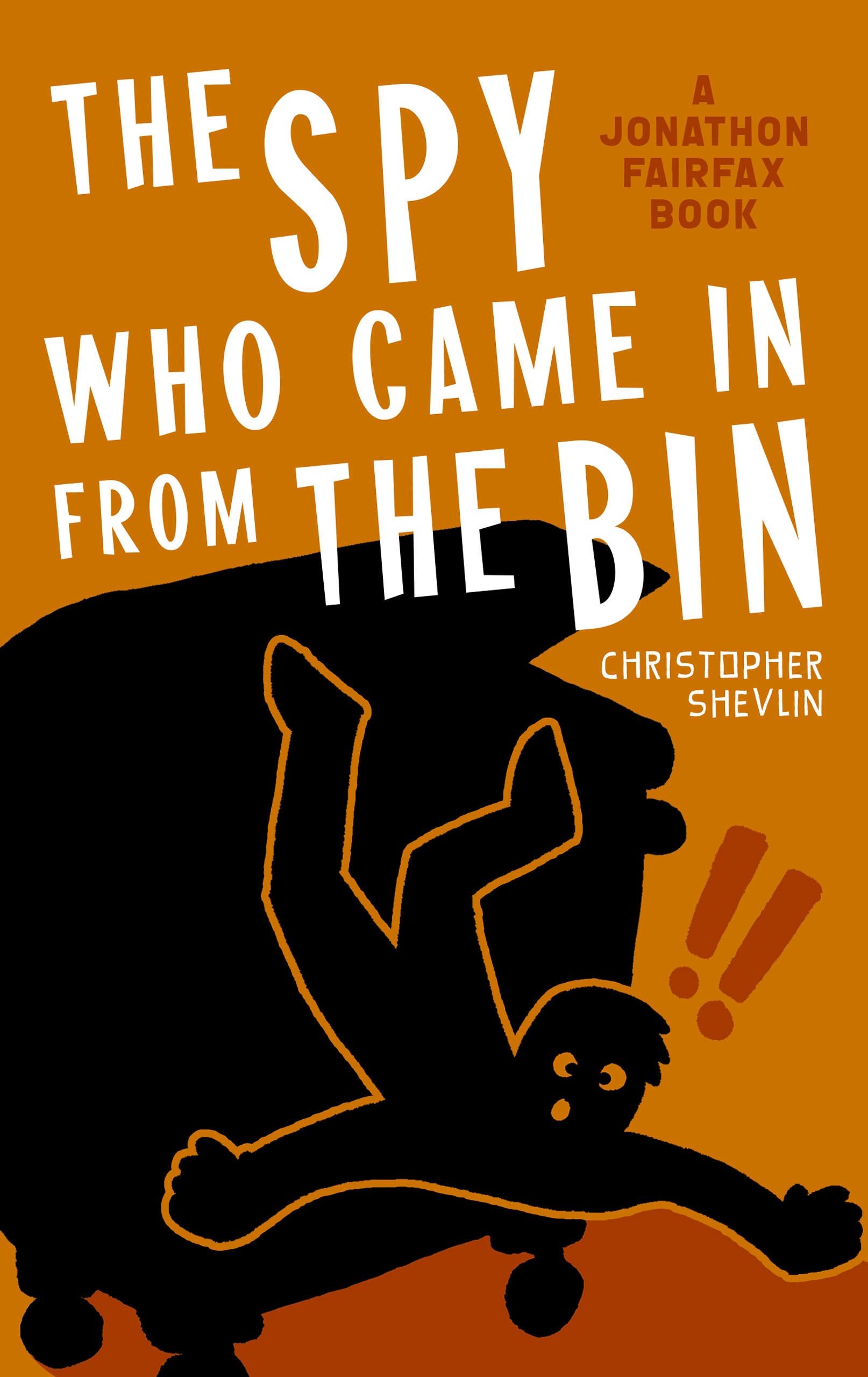 Prototype cover for The Spy Who Came in from the Bin