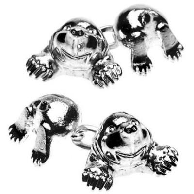 mole cufflinks