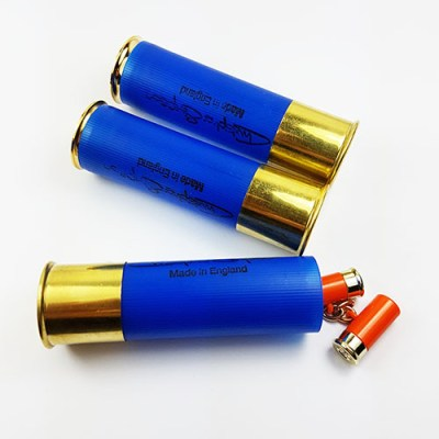 shotgun cartridge cufflinks orange