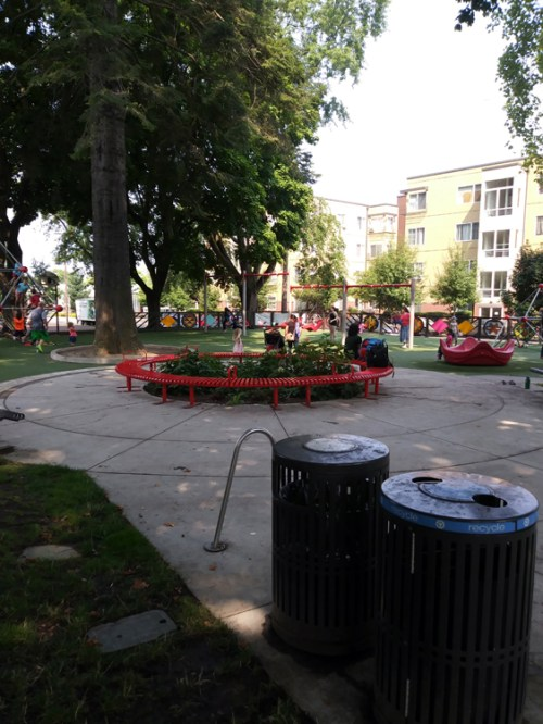 Parks are a huge factor in the socioeconomic status of a neighborhood, because quality parks attract more affluent people. Which presents a problem: how do you make cities more attractive (a sustainability goal!) without making them economically inaccessible to the people who have historically lived there?