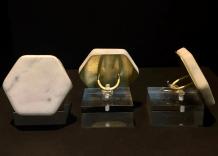 "Marble Rings Showing the Effects of Acid Precipitation © Aditi ""Jo"" Savabala (Project Summary)"