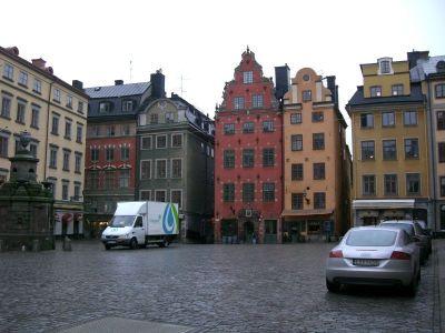Place du Nobel Museet à Stockholm