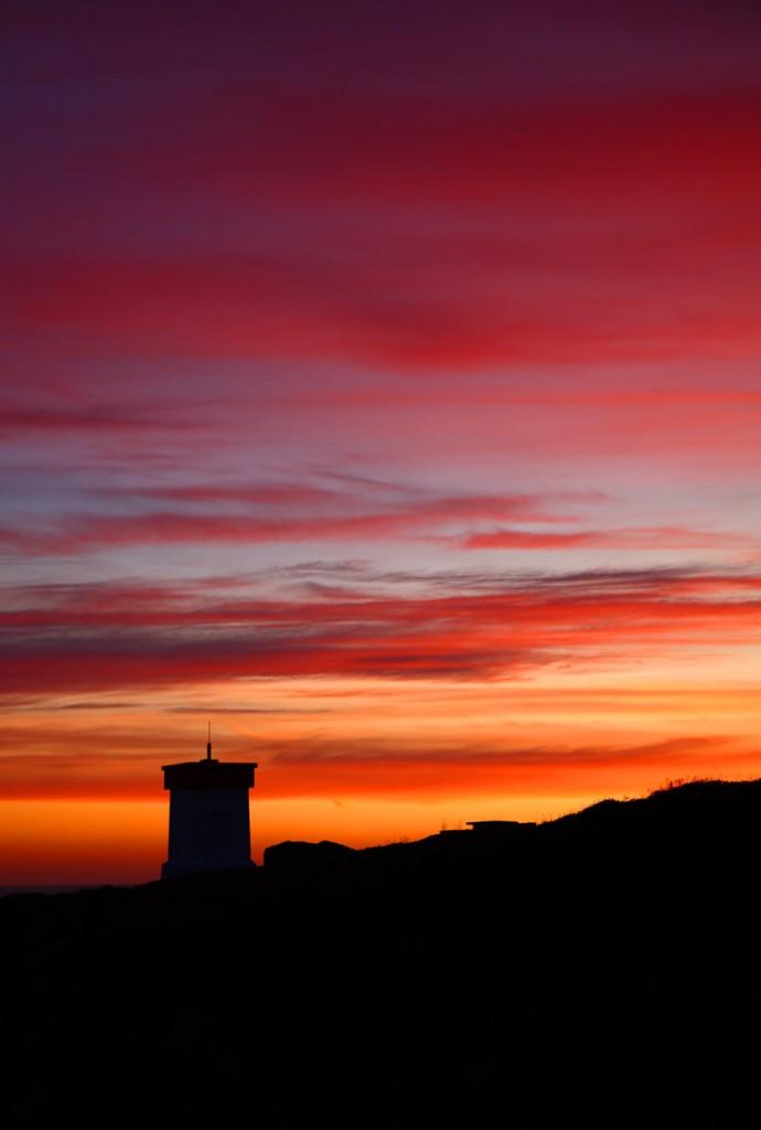 Photo de coucher de soleil à Pors Poulhan Plozevet Plouhinec
