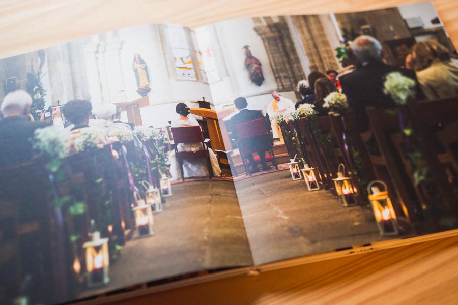 photographe de mariage à Quimper album photo Brest
