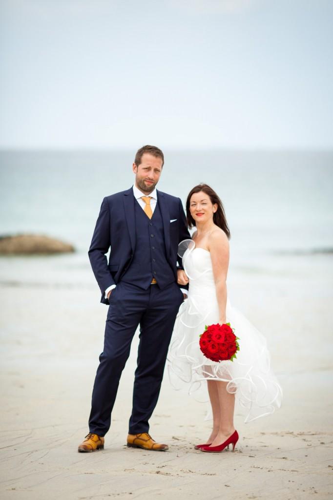 Reportage de mariage à Trévignion