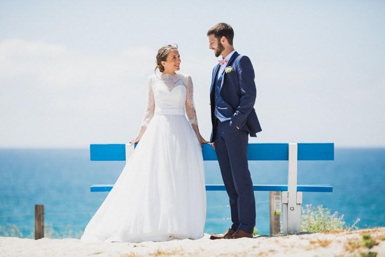Photo de couple de mariage à Loctudy près de Pont Labbe
