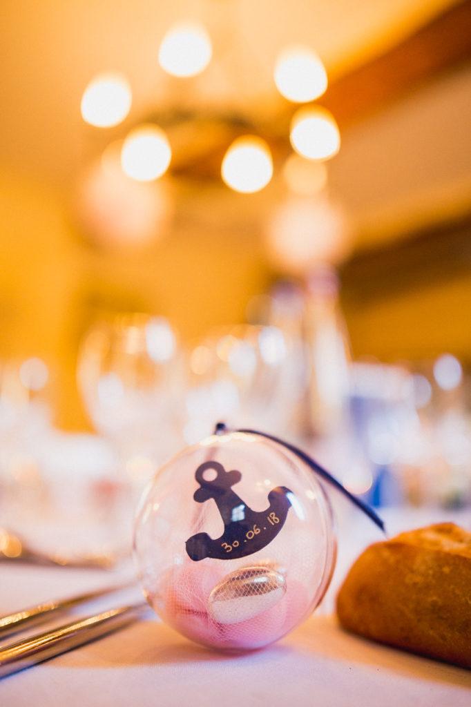 photo de table repas de mariage a quimper