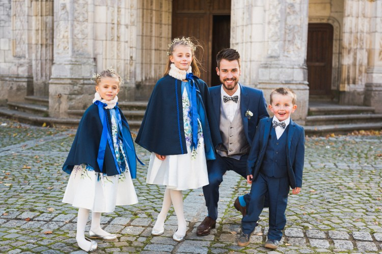 reportage mariage église Lorient brest quimper
