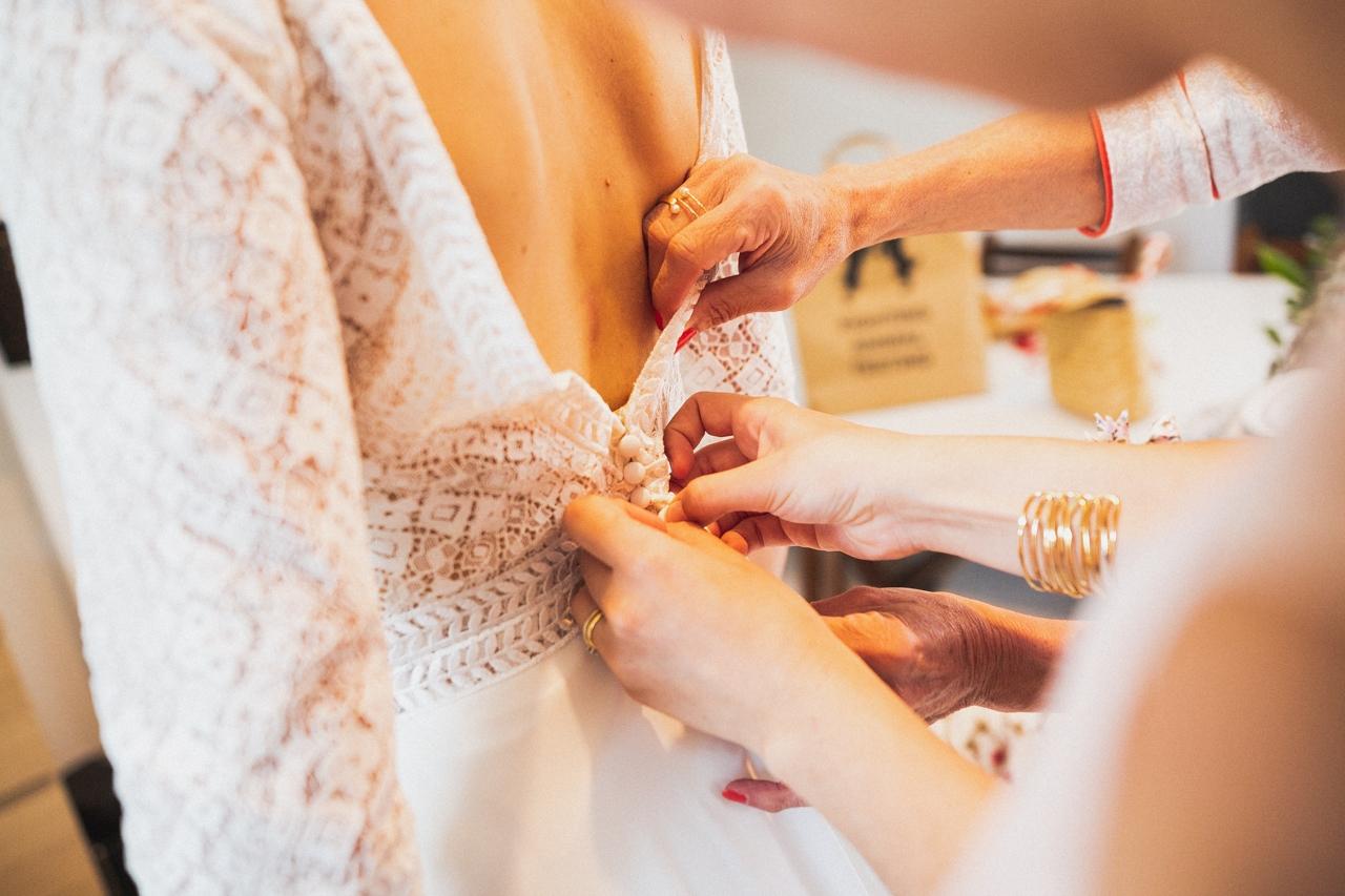 Robe de la mariée Pont-Labbe