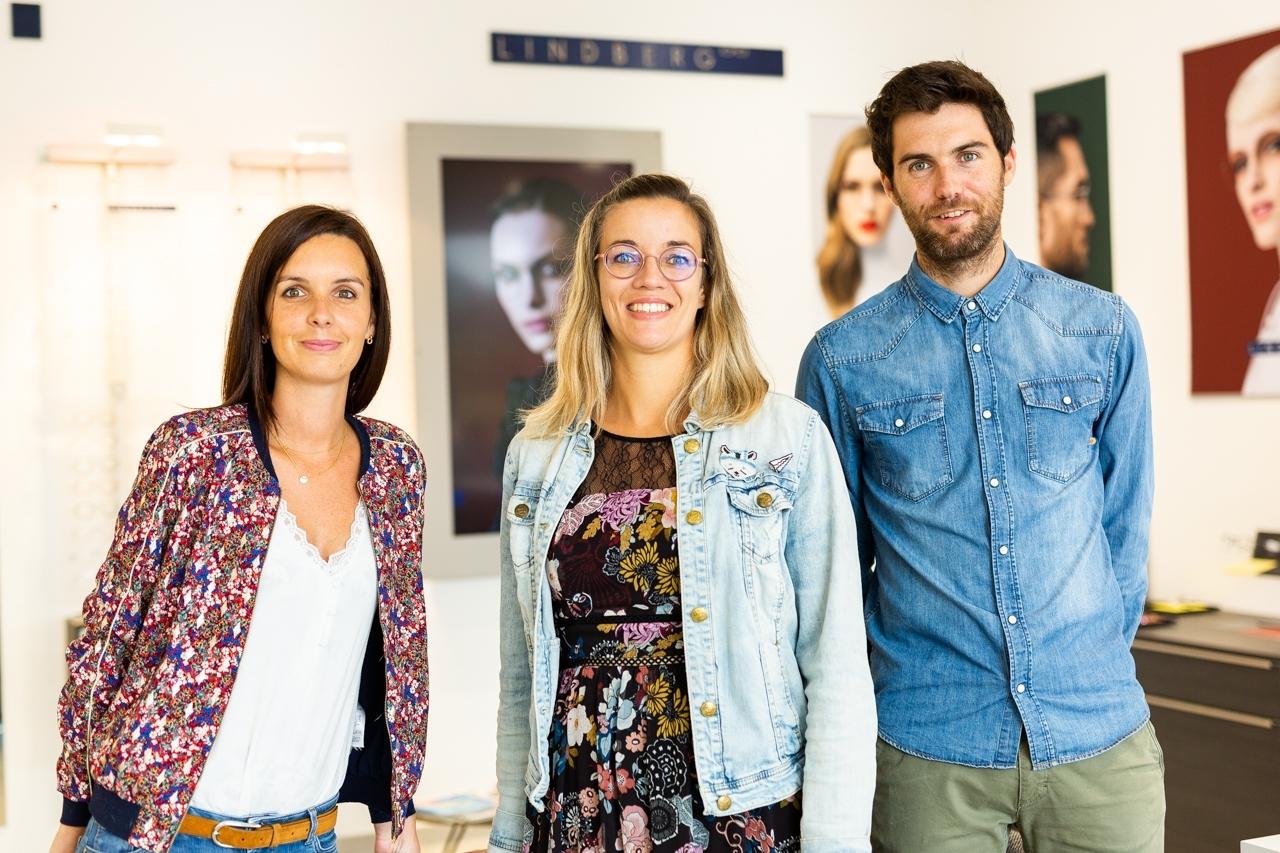 reportage photo entreprise optique Le Brun plomelin