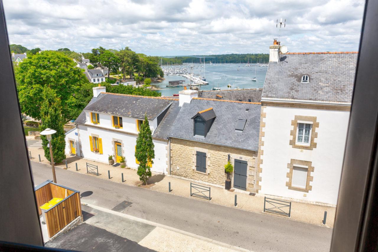 photo vue sur la mer residence du phare ste-marine
