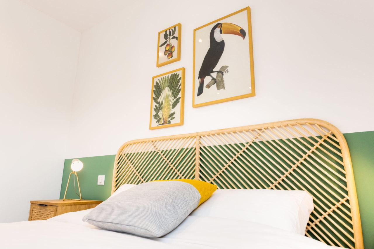 photo chambre residence du phare ste-marine