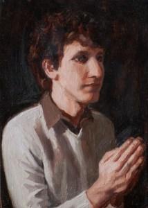Hunter Marriage Portrait (detail)