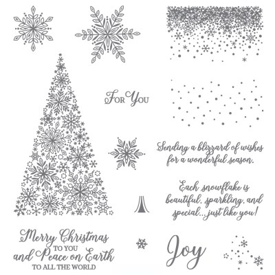 Snow is Glistening – 14 photopolymer stamps #149742   $21.00