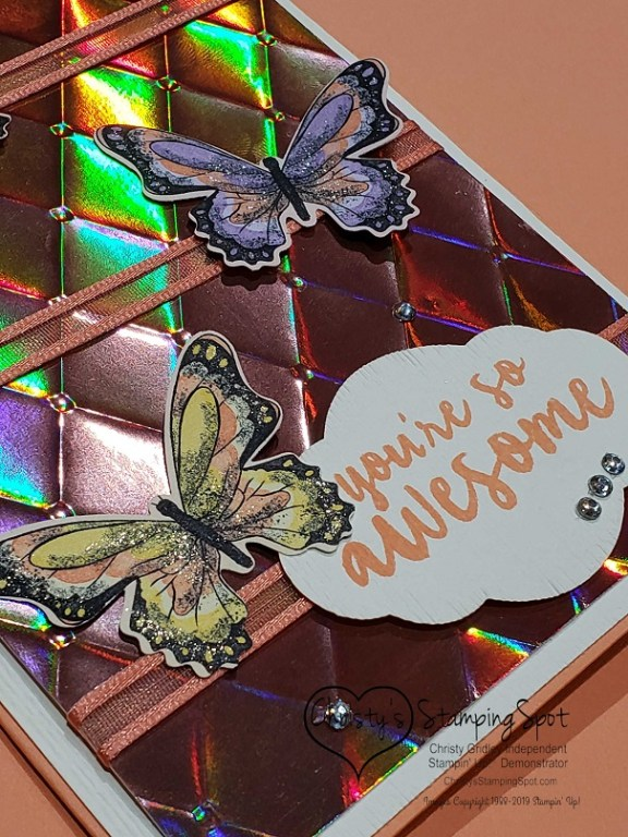 You're so Awesome Grapefruit Grove Foil card