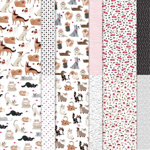 shop now link to the Playful Pets Designer Series Paper in Christy's Online Store.
