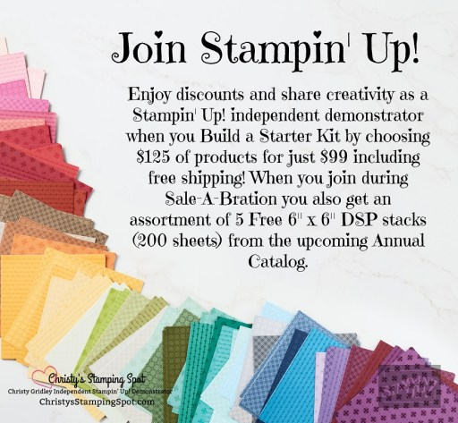 picture and link to my Stamping Lovelies Team with information about the Sale-A-Bation joining special.