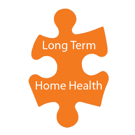 puzzle piece for long term care