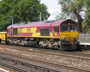 Goods train engines that we hear all day and night