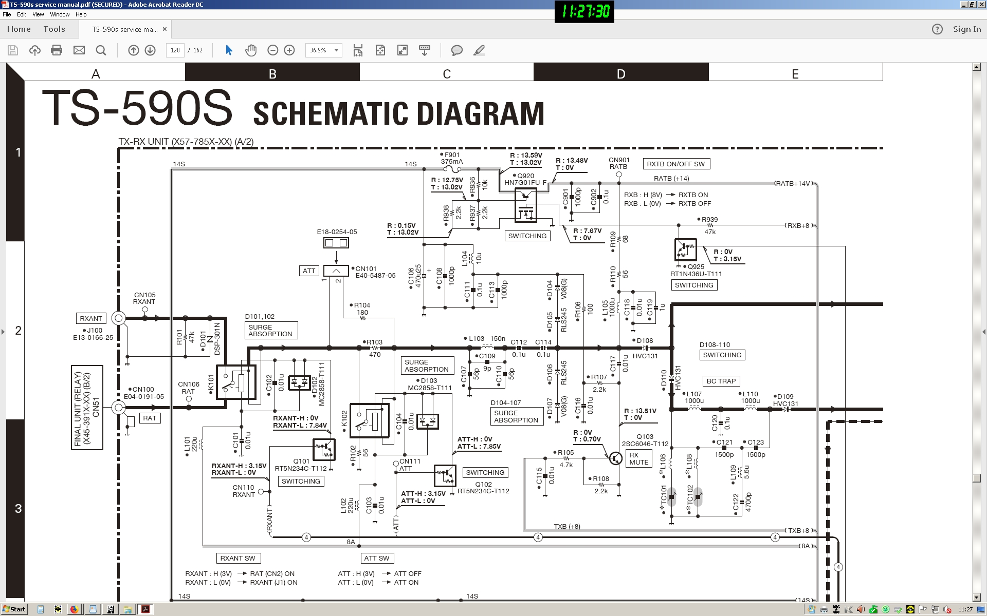 Substitute Relay Ok For Rf Path In A Kenwood Ts 590