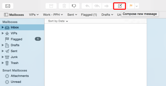 Compose New Mail