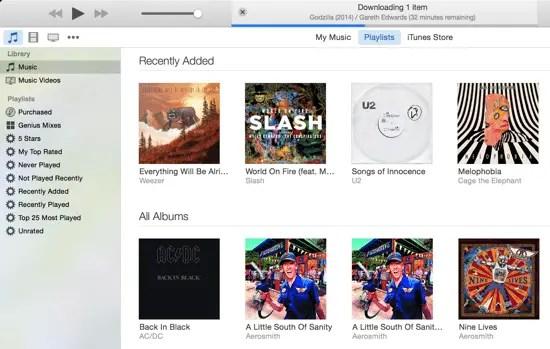 iTunes 12 Playlists
