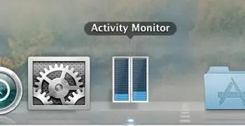 Activity Monitor - Dock Icon CPU