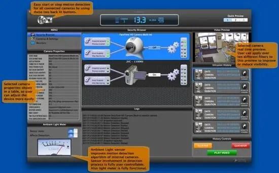 iWatchU Screenshot