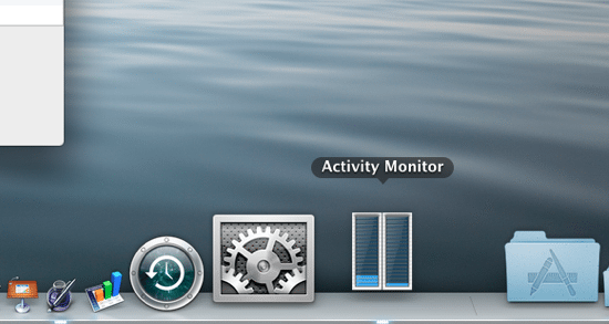 Activity Monitor Dock Icon CPU Meter