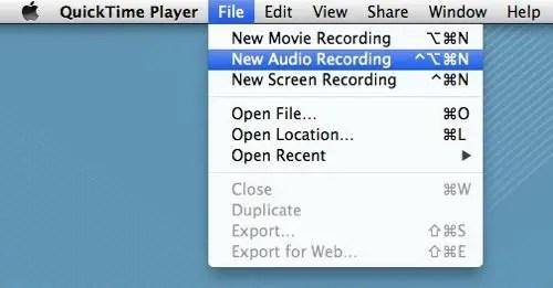 New QuickTime Audio