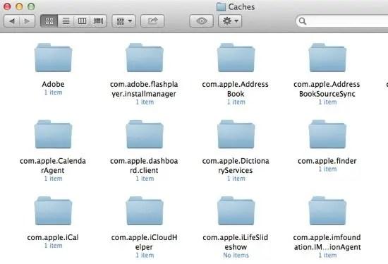 Caches Folder