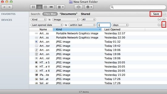 Smart Folder screenshot