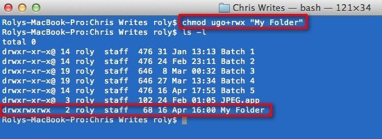 How To Change File Permissions Using The Terminal