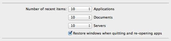 How to Disable Auto Resume in Mac OS X Lion ChrisWritescom