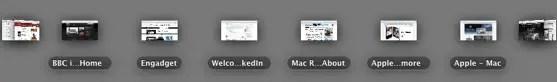 Mac OS X Lion Coverflow