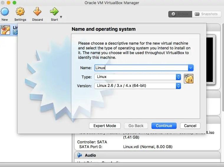 create-linux-vm