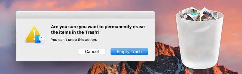 delete files macos sierra