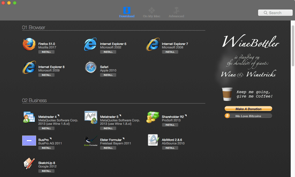 Run Windows apps, games and software on your Mac