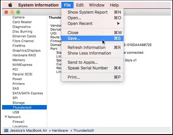macbook-generate-system-report