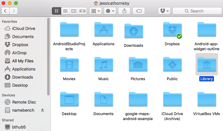 Accessing your Mac's Hidden Library Folder - ChrisWrites com