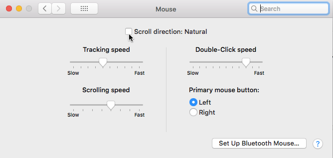 Change your Mac's scrolling direction: What is natural and