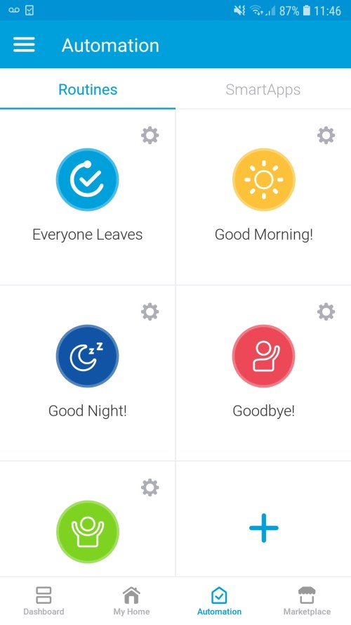 Securing your home with SmartThings: Get notified of door