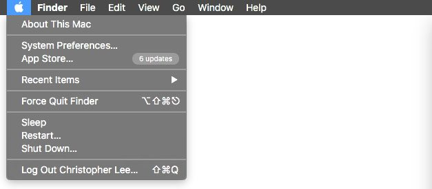Update Apps Mac