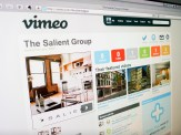 Salient Group website - Vimeo page